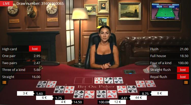 play the card game casino