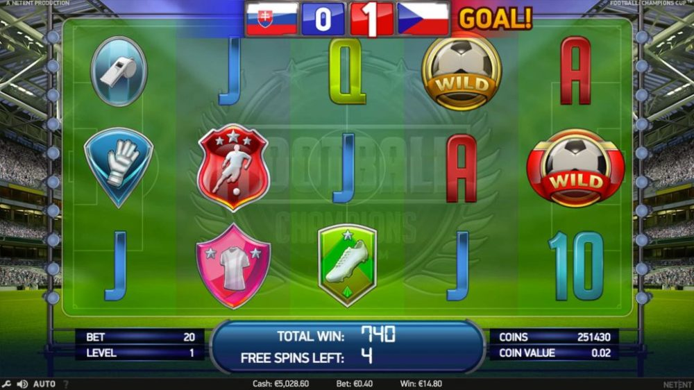new online casino champions football