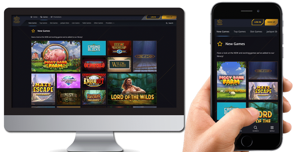 21 Casino Desktop & Mobile