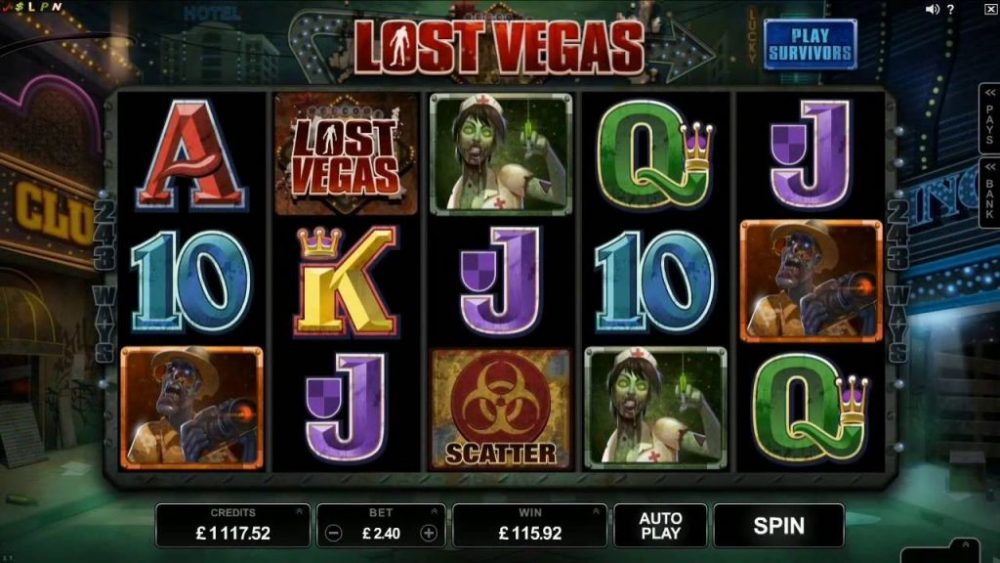 Lost Vegas slot preview