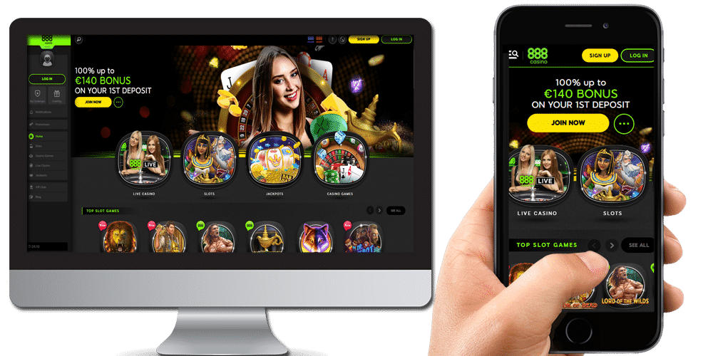 888 casino desktop and mobile
