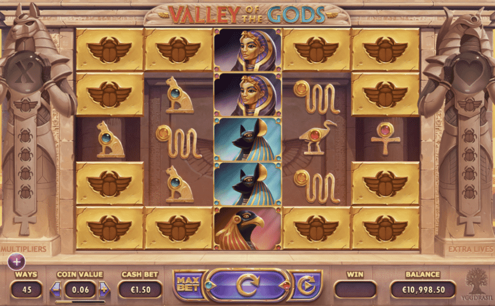 valley of the gods base game