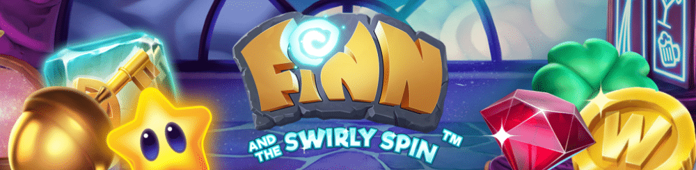Finn and the Swirly Spin banner