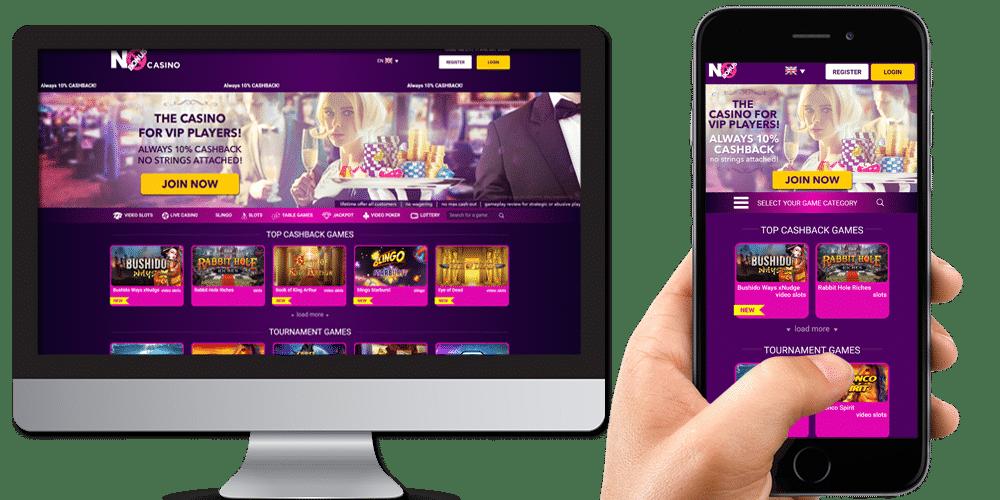 no bonus casino desktop and mobile