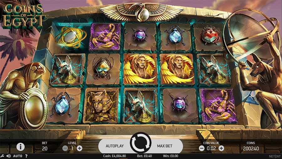 coins-of-egypt-netent-preview