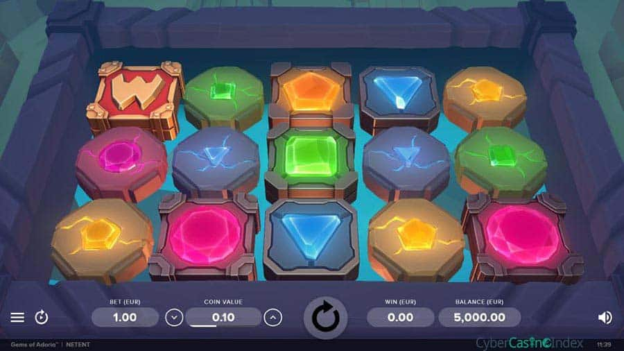 gems-of-adroria slot base game preview