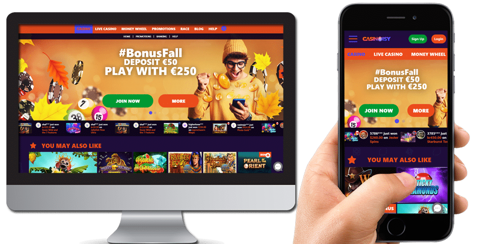 casinoisy desktop and mobile