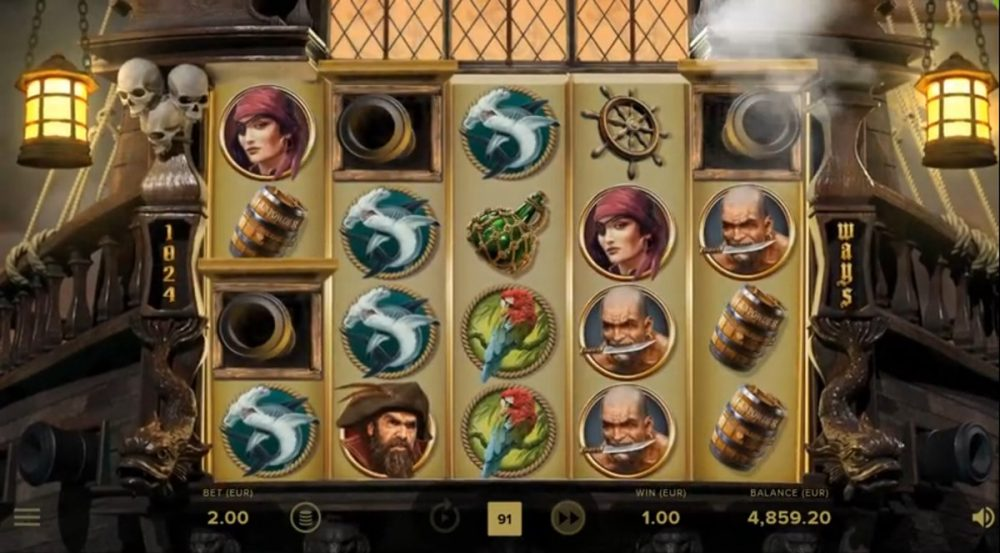 Rage of the seas - Slot Preview