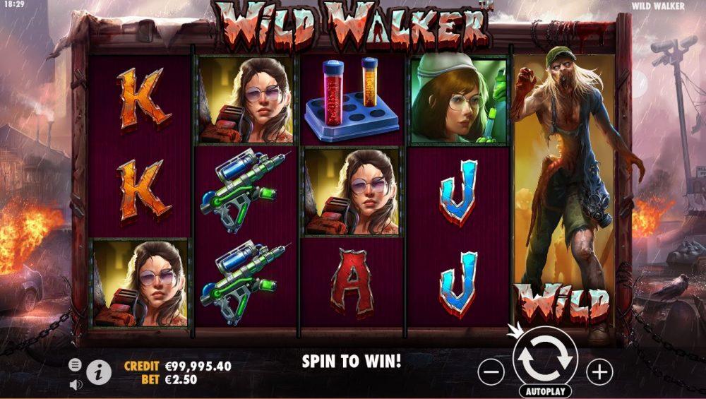 Wild Walker Slot Preview