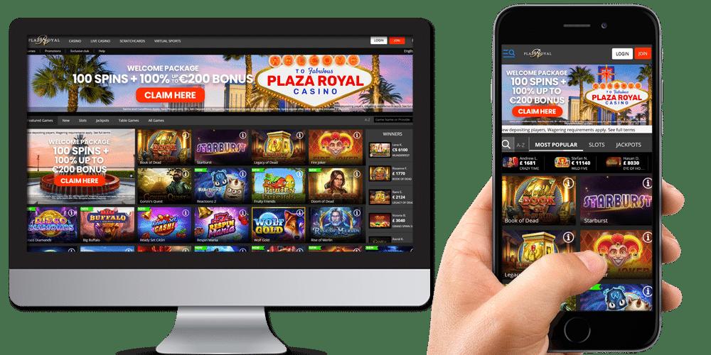 Royal Plaza Desktop And Mobile