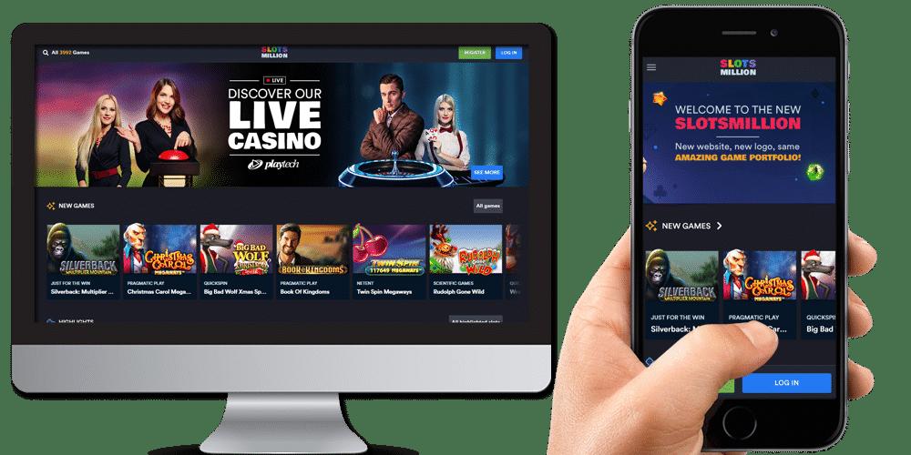 Slots Million Desktop And Mobile