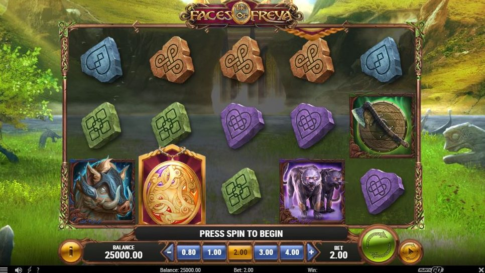 faces of freya slot preview