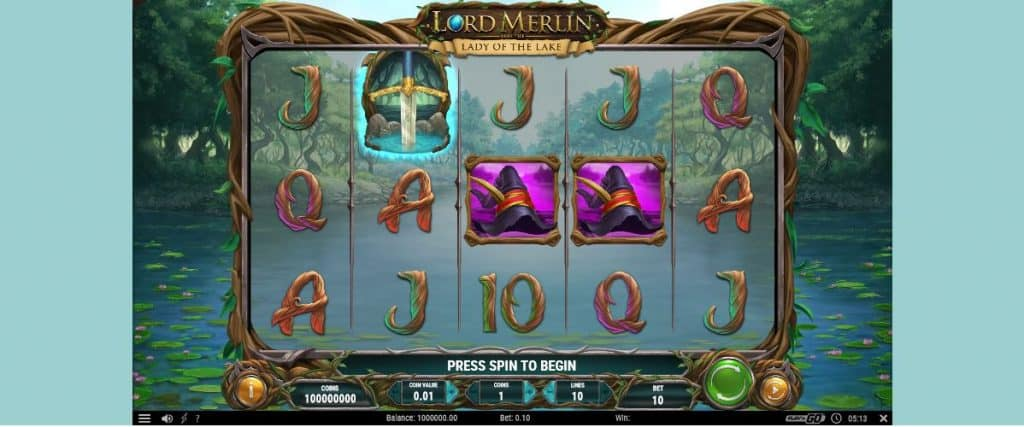 Lord Merlin And The Lady Of The Lake Video Slot Preview