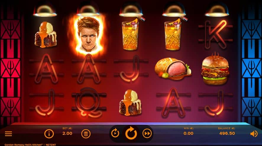hells kitchen slot preview